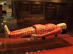 第二代南越国君主赵眜的陵墓出土的丝褛玉衣