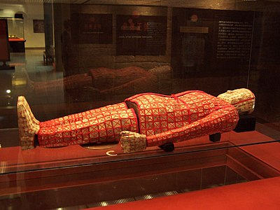 The jade burial suit of Zhao Mo in Guangzhou's Nanyue King Museum Si lu yu yi.JPG