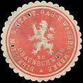 Siegelmarke Direction der Städt. Gas- und Wasser-Werke zu Braunschweig W0323396.jpg