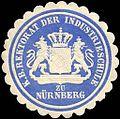 Siegelmarke Königlich Bayerische Rektorat der Industrieschule zu Nürnberg W0225559.jpg