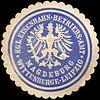 Siegelmarke Königliche Eisenbahn - Betriebs - Amt - Wittenberge - Leipzig - Magdeburg W0219928.jpg