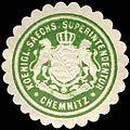 Siegelmarke Koeniglich Saechsische Superintendentur - Chemnitz W0234574.jpg