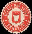 Siegelmarke Siegel der Stadt Emmerich W0309881.jpg