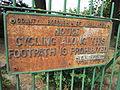 Sign, Orchard Grange, Moreton - IMG 0455.JPG