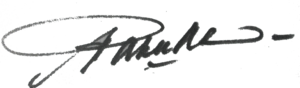 Paku Alam VIII - Image: Signature of Paku Alam VIII