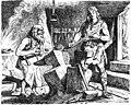 Sigurd prüft das schwert Gram by Johannes Gehrts.jpg