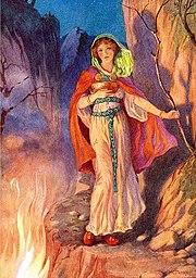 Sigyn Loki's Wife by Harry George Theaker 1920