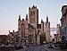 Sint-Niklaaskerk and the belfry of Ghent (DSCF0229).jpg