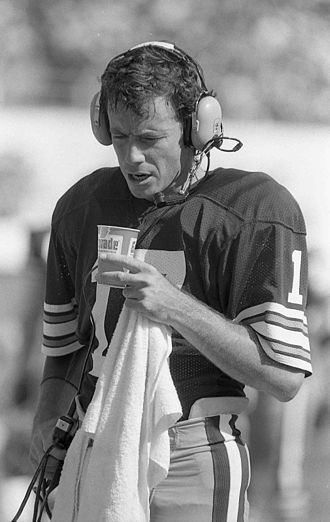 Cleveland Browns - Former Browns quarterback Brian Sipe, who was the 1980 NFL MVP