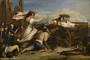 Sir David Wilkie (1785-1841) - The Defence of Saragossa - RCIN 405091 - Royal Collection.jpg