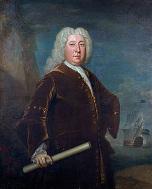 George Walton (Royal Navy officer) - Sir George Walton, by Bartholomew Dandridge