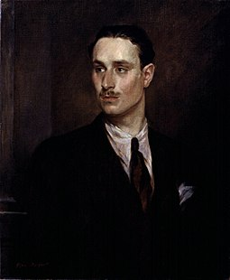 Sir Oswald Mosley, 6th Bt by Glyn Warren Philpot