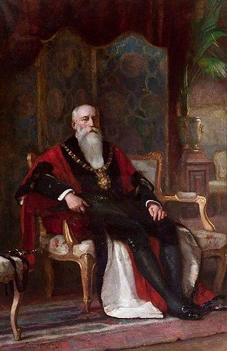 Sir Robert Anderson, 1st Baronet - Sir Robert Anderson, as Lord Mayor