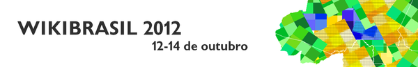 O WikiBrasil ocorrerá de 12 a 14 de outubro