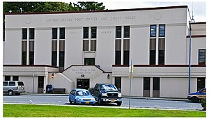 Sitka U.S. Post Office and Court House - Image: Sitka post office