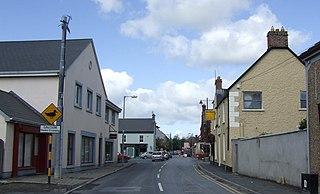 Sixmilebridge Town in Munster, Ireland
