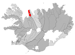 Location of the Municipality of Skagabyggð