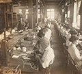 Skilled workers manufacturing jewelry, Providence, R.I, by Keystone View Company (cropped).jpg
