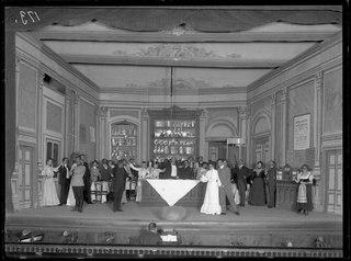 Slovakerna, Östermalmsteatern 1904. Föreställningsbild