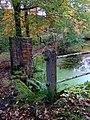 Sluice gate at Clough House mill pond, Slaithwaite - geograph.org.uk - 1544815.jpg