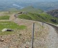 Snowdon Mountain Railway steep descent.jpg