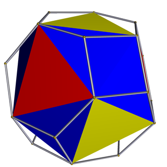 Snub polyhedron - Image: Snub polyhedron icosahedron