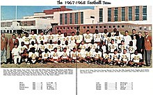 1967-1968 SOC football team