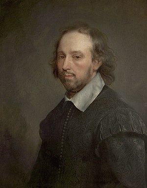 "Chandos portrait - The ""Soest Portrait"" of Shakespeare."