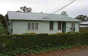 Seven Hills, New South Wales - A still extant soldier settlement house in 2010 - the external fabric is almost unchanged.