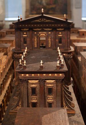Hamburg temple model - Detail