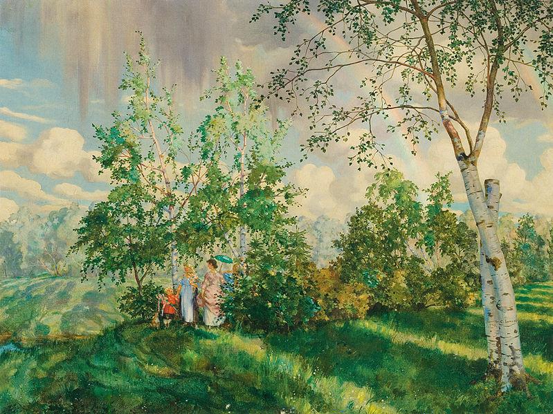 В марте в «KGallery» откроется выставка работ Константина Сомова