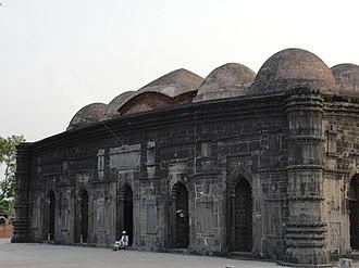 Alauddin Husain Shah - Choto Shona Mosque built during the reign of Alauddin Husain Shah