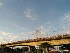 Sore jembatan Sitti Nurbaya.JPG