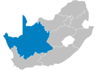 Location of the Northern Cape