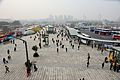 South square of Ningbo Railway Station, 2014-01-18.jpg