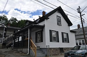 House at 34 Benefit Street - Image: Southbridge MA 34 Benefit Street