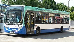Southdown PSV - Alexander Dennis Enviro200 Dart at Crawley bus station