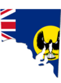 Southern Australia Flag Map.png