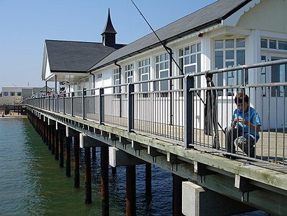 How to get to Southwold Pier with public transport- About the place