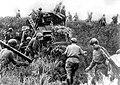 Soviet infantry crosses the border of Manchuria. August 9, 1945.jpg