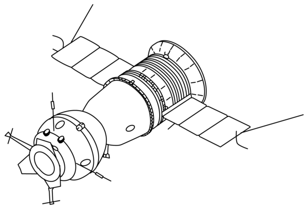 apollo spacecraft clipart - 1024×700