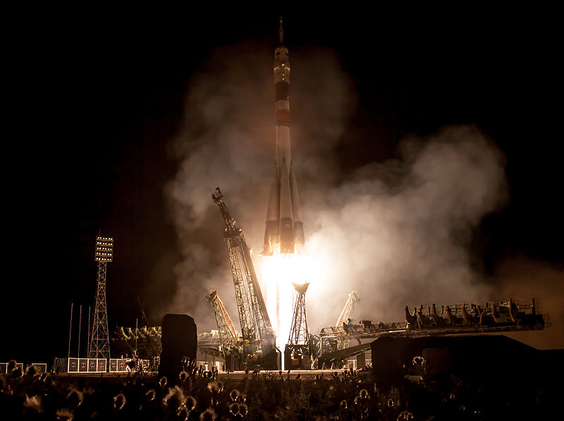 File:Soyuz TMA-09M rocket launches from Baikonur 2.jpg