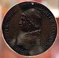 Sperandio, medaglia di bartolomeo della rovere, vescovo di ferrara, 1474, 01.jpg