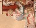 Spinello aretino, preghiera e matrimonio mistico di s. caterina 05.JPG