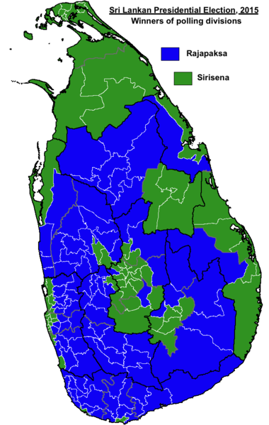 2015 Sri Lankan presidential election - Wikipedia