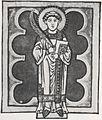 St. Cyriakus Speyerer Evangelistar von 1197.jpg
