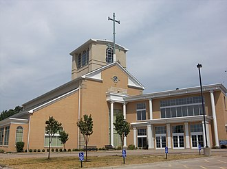 St. Paul Lutheran Church (Davenport, Iowa) - Image: St. Paul Lutheran Davenport 2007
