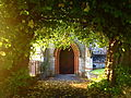 St. Peter's church (Eglwys Sant Pedr), Ruthin (Rhuthun), Denbighshire, North Wales.JPG