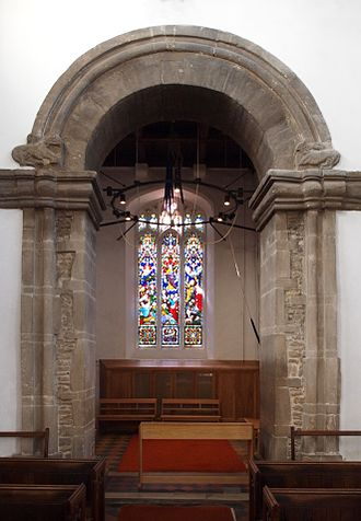 St Bene't's Church - The 11th century tower arch