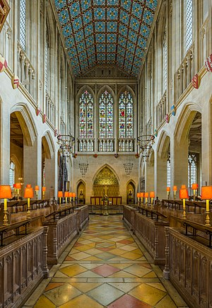 St Edmundsbury Cathedral - The choir, looking east towards the high altar
